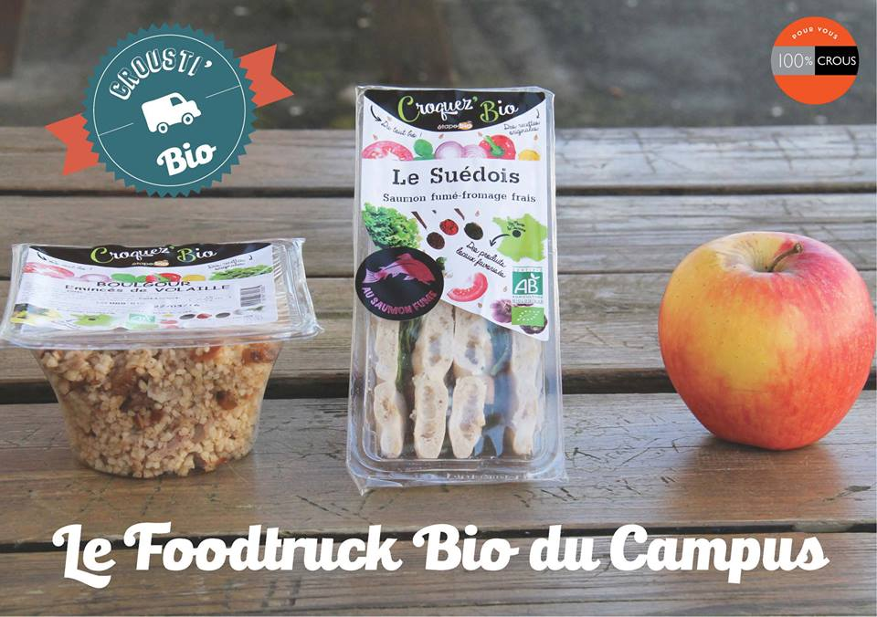 Foodtruck Bio du Campus